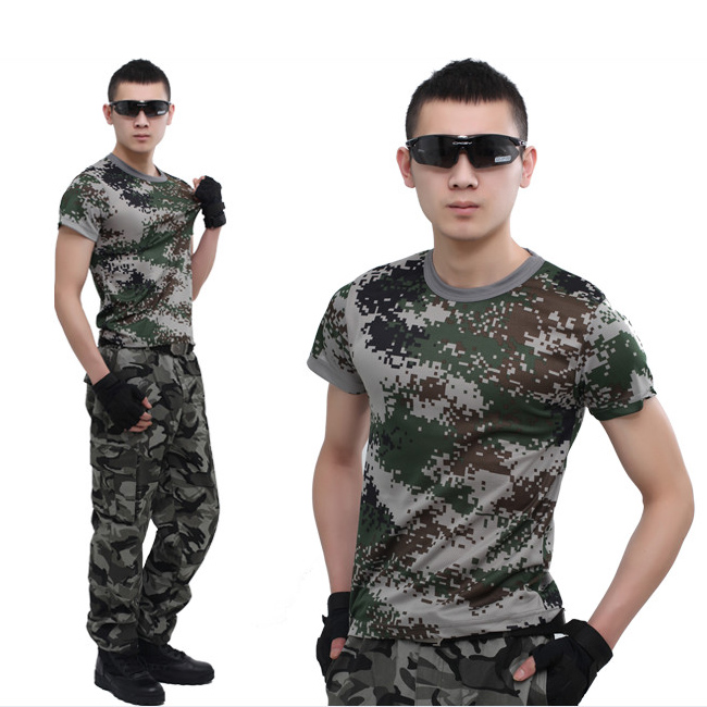 KTXF-002数码格迷彩学生军训服