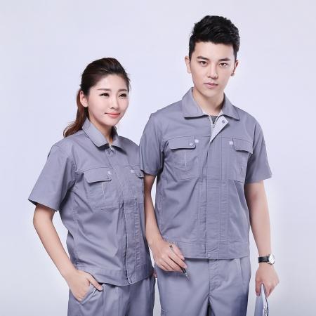 KTGF-004 银灰色夏季工作服