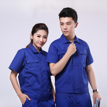 KTGF-012 蓝色拉链款式工作服